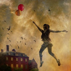 fly me with balloons | by Chopak