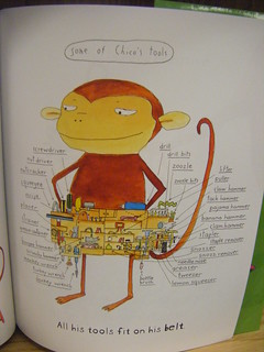 Monkey with a Tool Belt (I love his belt.) | by MrSchuReads