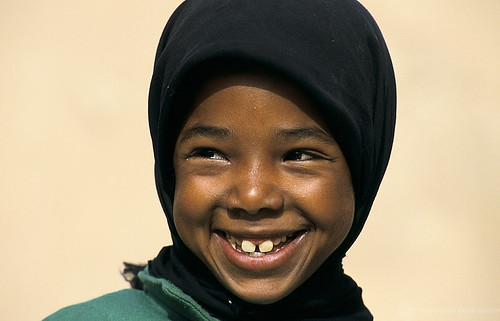 Portrait of smiling girl. Morocco | by World Bank Photo Collection
