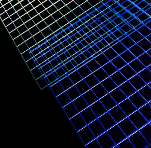 Corporate Art: Honeywell Lighted Acrylic Grid by Phil Manker | by Phil Manker