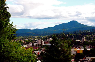 Eugene Oregon > August View