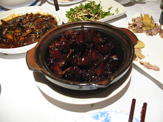Hong shao rou (red-cooked pork belly) at Jesse | by Gary Soup