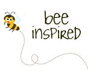 bee inspired button. by rachelgriffith
