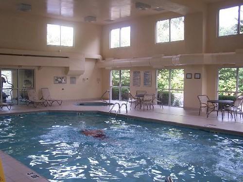 fairfield inn indoor swimming pool by j stephen conn