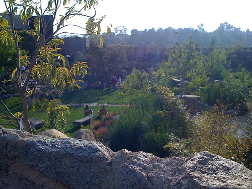 Looking into the Garden at Stone Brewery | by Erin and Lance Adventures