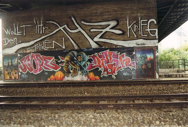 Graffiti Düsseldorf graffiti düsseldorf flickr