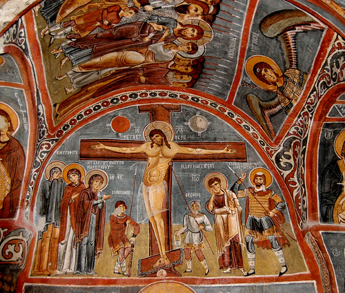 Crucifixtion Fresco | by Curious Expeditions