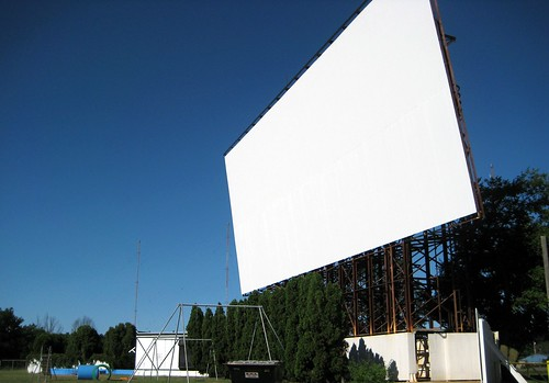 New Drive-in Screen | by Eridony
