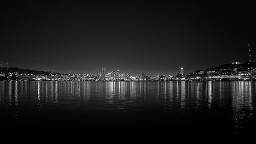 Seattle Skyline, LX3 w/ Wide Angle Converter | by marshall.sutcliffe