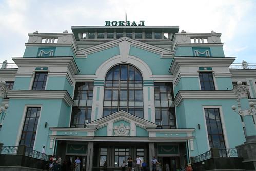 Московский вокзал эвакуирован из-за сообщения о бомбе.