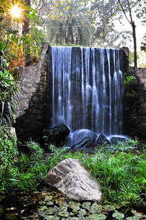 Waterfall at the Lahore Zoo | by Armughan-