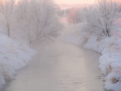 Softly Winter...On Nine Mile Creek | by Nature_Deb