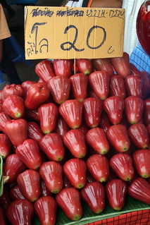 Rose apples at Chatuchak Weekend Market, Bangkok | by Eating In Translation