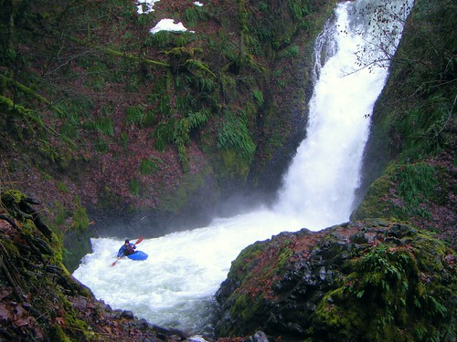 Kayaker at Bridal Veil Falls     3 | by Sarah McDevitt