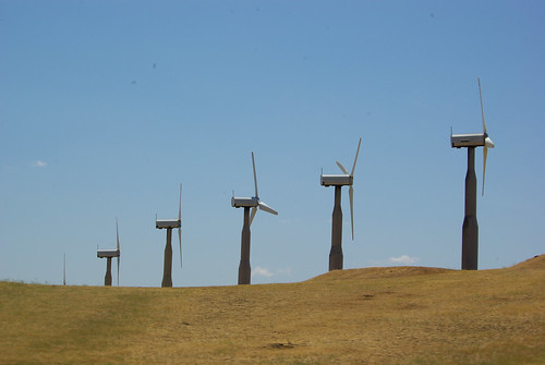 Altamont Pass Wind Turbines | by footloosiety