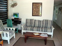 Palmetto Guesthouse lounge area on Culebra, Puerto Rico | by palmettoculebra