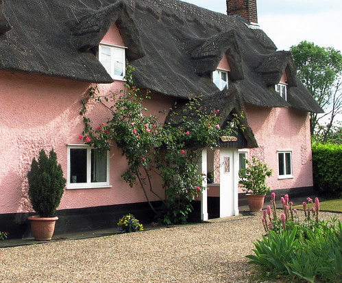 The Pink Thatched Cottage | by Louise and Colin