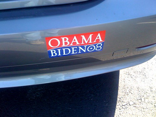 Just got a compliment for my bumper sticker :-) | by scriptingnews
