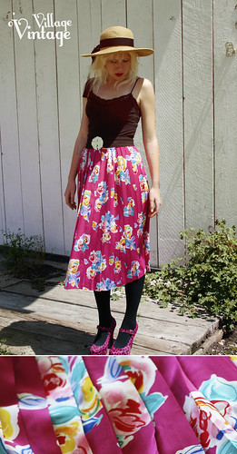 Flouncy Floral Skirt | by Sophie Peoples