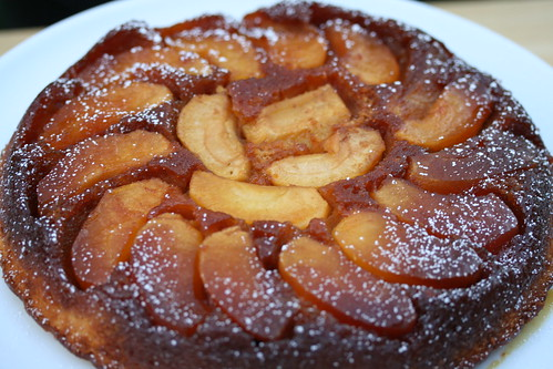 "Barefoot Contessa's Apple Cake ""Tatin"" 