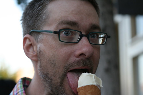 David at Ici Ice Cream (Elmwood/Berkeley) | by Food Librarian