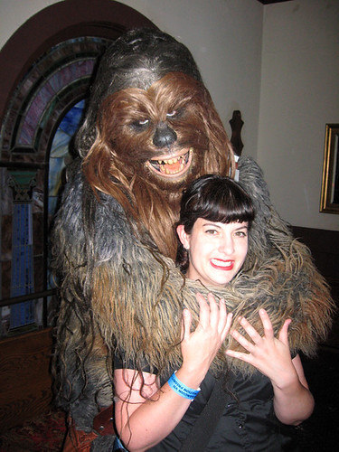 Bon and Chewie at Comic-Con Goth Prom | by bonniegrrl