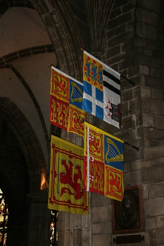 Royal banners, Order of the Thistle | by beery