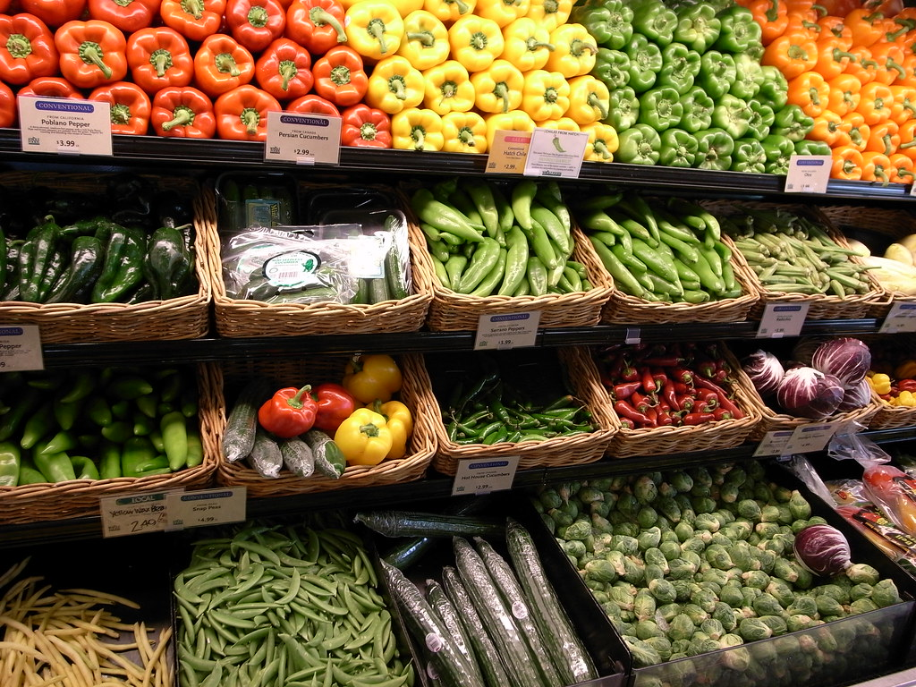 Vegetables in Whole Foods Market