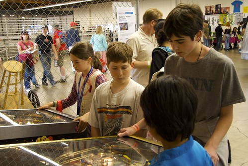 Kids Playing Pinball | by bbum