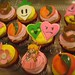 princess peach cupcakes