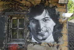 Steve Jobs painted portrait _DDC7924 | by Abode of Chaos