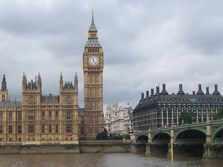 Big Ben, Portcullis House and Westminster Bridge | by UK Parliament