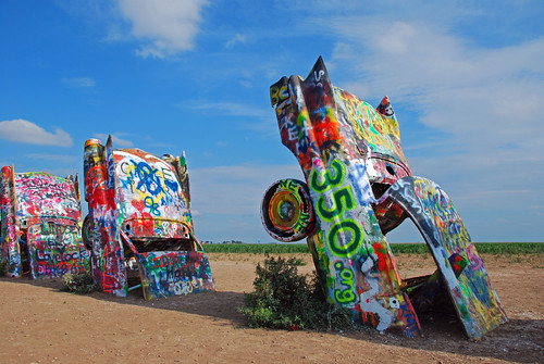 350 Painted Cars, Amarillo, Texas, USA | by 350.org