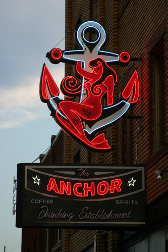 The Anchor Neon Sign | by gtotiger68