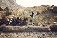 Aboriginals of Hengam Island by Alieh