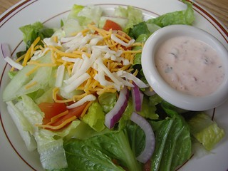 Small House Salad from Louie's Grill | by swampkitty