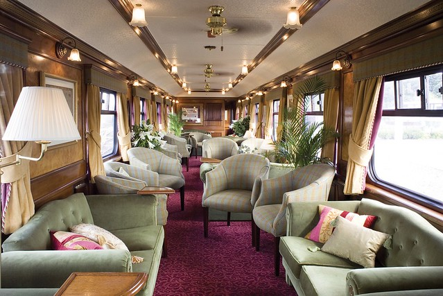 Train Chartering - Royal Scotsman, lounge car