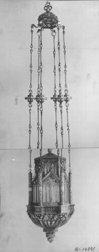 Chandelier, Saint Thomas Church and Parish House, New York City | by Smithsonian Institution