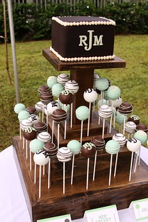 Wedding cake and cake pops | by Sweet As Sugar 808