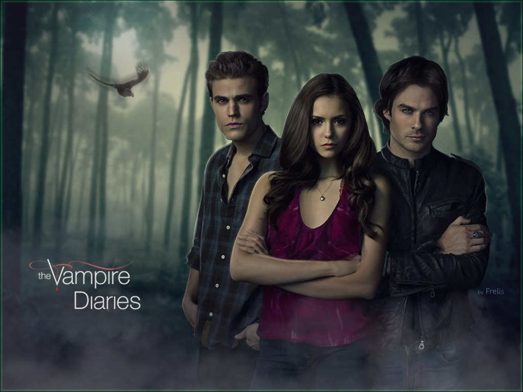 the Vampire Diares (Wallpaper)