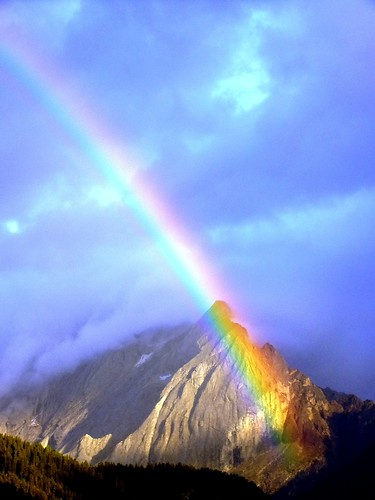 The mountain rainbow | by Robyn Hooz