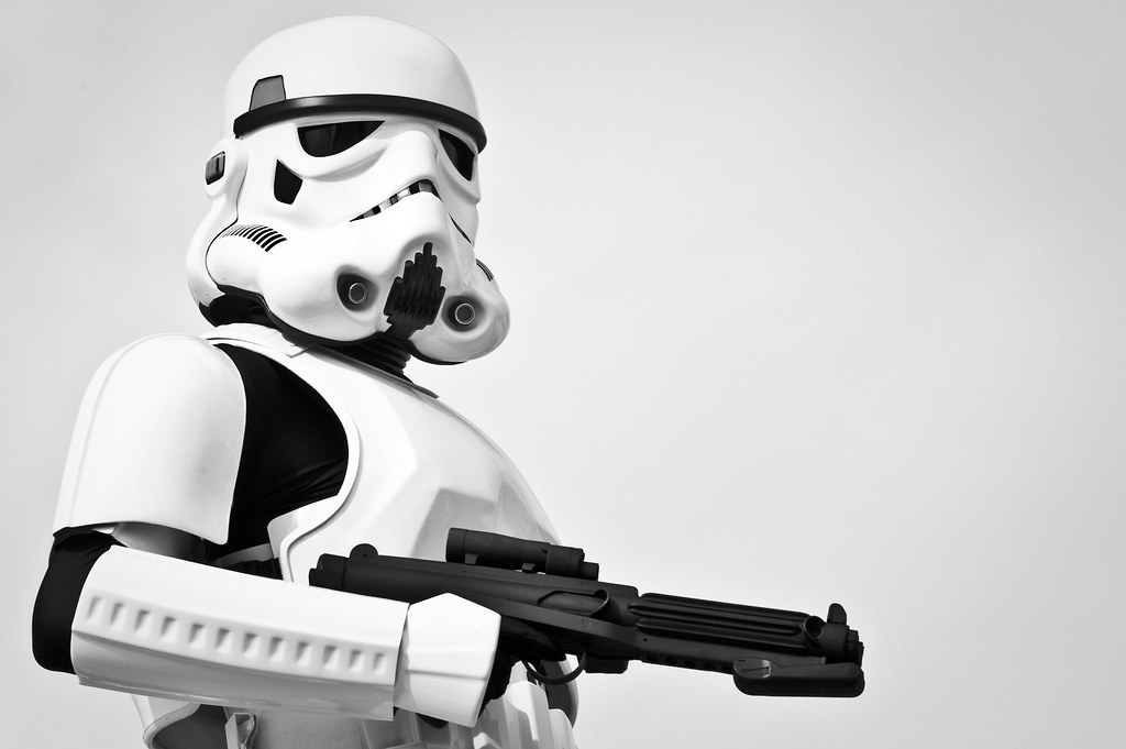 Stormtrooper Modeling Shots - Star Wars Weekends