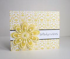 Quickcard 16 - Yellow by Sue McRae