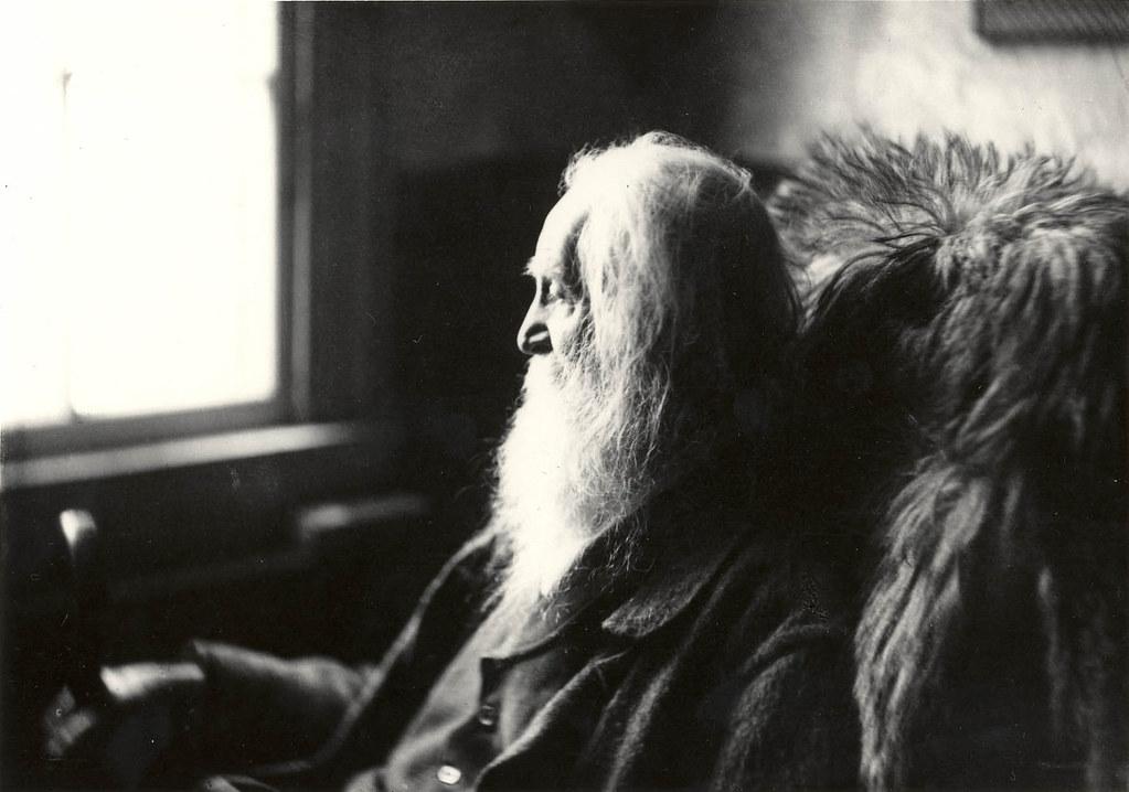 Walt Whitman - em Camden, 1891