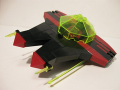 Space Pirate Mini Fighter by Aaron (-_-)