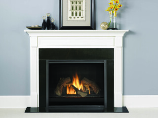 Heat&Glo_8000CFireplace_GasSingleSided | by HeatandGlo