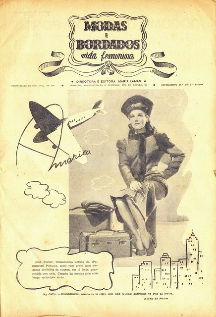 Modas e Bordados, No. 1617, February 1943 - 2
