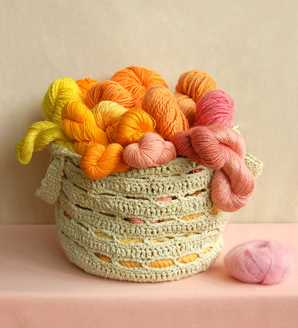 Whit's Knits: Crocheted Stash Basket | by the purl bee