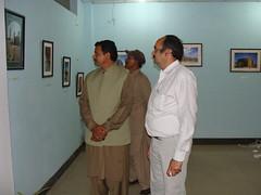 "Yousaf Kasailia District NiabNazim also visited Burewala Photo Exhibition -- ""Other Pakistan"" by Dr. Shahid-Burewala Trekkerz (What Next)"