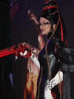 Bayonetta on the Show Floor | by SEGA of America